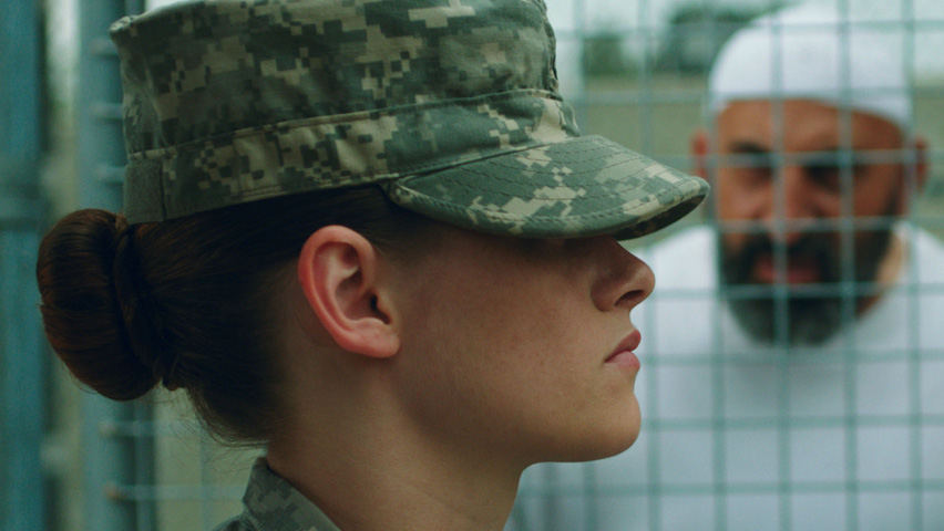 Still from 'Camp X-Ray' directed by Peter Sattler