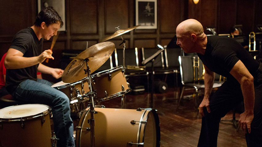 Still from 'whiplash' directed by Damien Chazelle
